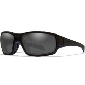 Okulary Taktyczne Wiley X WX Breach - Smoke Grey - Czarne