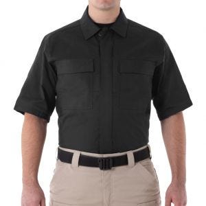 Koszula First Tactical Men's V2 Krótki Rękaw BDU Czarna