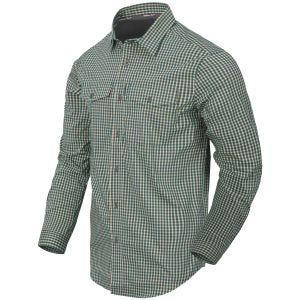 Koszula w Kratkę Helikon Covert Concealed Carry Savage Green Checkered
