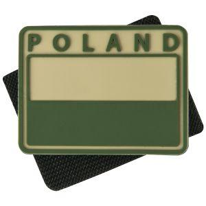 Naszywka Helikon Flaga Polski Poland 2 szt Khaki