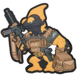 Naszywka Patchlab Chameleon Firearm Instructor Czarno-Żółta