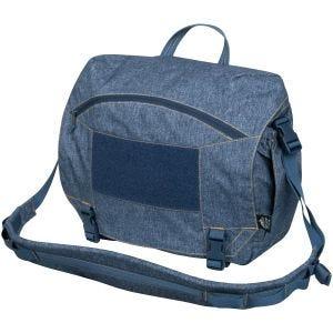Torba Helikon Urban Courier Bag Duża Melange Blue