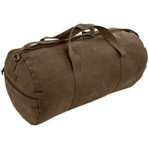 Torba Highlander Crieff Canvas Roll Bag 45L Brązowa
