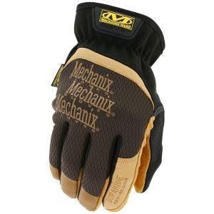 Rękawice Taktyczne Mechanix Wear FastFit Leather Brązowe
