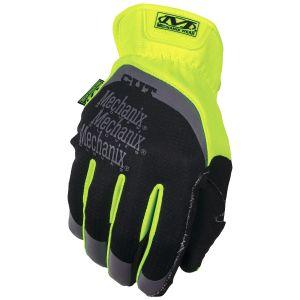 Rękawice Taktyczne Mechanix Wear Fastfit Hi-Viz E5 Fluorescent Yellow