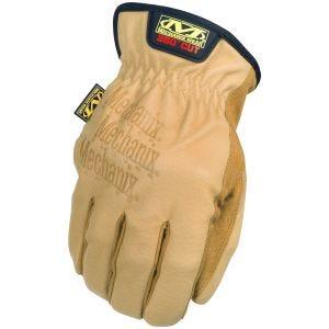 Rękawice Taktyczne Mechanix Wear Leather Driver F9-360 Brązowe