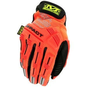 Rękawice Taktyczne Mechanix Wear M-Pact Hi-Viz Fluorescent Orange
