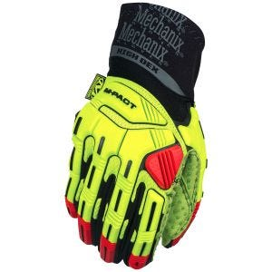 Rękawice Taktyczne Mechanix Wear M-Pact XPLOR Hi-Dexterity Fluorescent Yellow