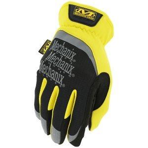 Rękawice Mechanix Wear FastFit Żółte
