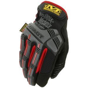 Rękawice Taktyczne Mechanix Wear M-Pact Czarno-Czerwone