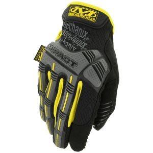 Rękawice Taktyczne Mechanix Wear M-Pact Żółte