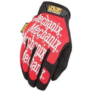 Rękawice Taktyczne Mechanix Wear The Original Czerwone
