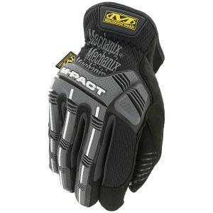 Rękawice Taktyczne Mechanix Wear M-Pact Open Cuff Czarne/Szare