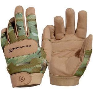 Rękawice Taktyczne Pentagon Duty Mechanic PentaCamo