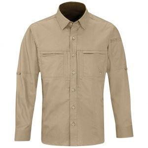 Koszula Męska Propper HLX Długi Rękaw Khaki