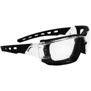 Okulary Taktyczne Swiss Eye Net - Clear - Czarne