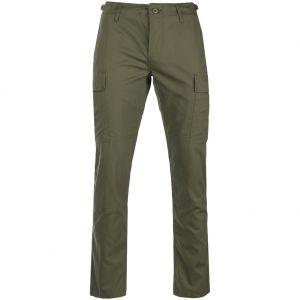 Spodnie Teesar US BDU Ripstop SlimFit Oliwkowe
