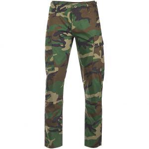 Spodnie Teesar US BDU Ripstop SlimFit Woodland
