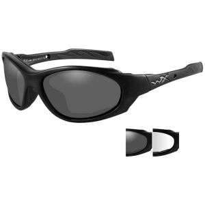 Okulary Taktyczne Wiley X XL-1 Advanced - Smoke + Clear - Czarne