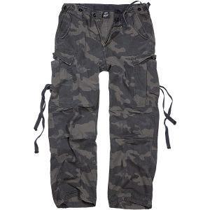 Spodnie Brandit M-65 Vintage Dark Camo