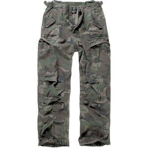 Spodnie Brandit M-65 Vintage Woodland