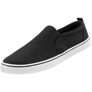 Trampki Wsuwane Brandit Southampton Slip-On Sneaker Czarno-Białe