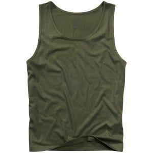 Koszulka bez Rękawów Brandit Oliwkowa