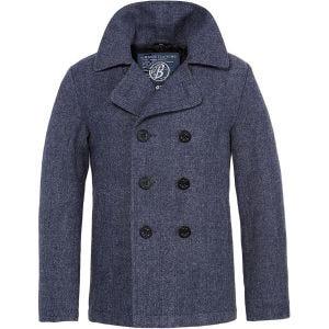 Płaszcz Brandit Pea Coat Niebieski