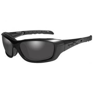 Okulary Taktyczne Wiley X WX Gravity Black Ops - Smoke - Czarne