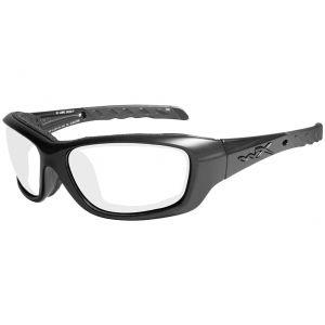 Okulary Taktyczne Wiley X WX Gravity - Clear - Czarne