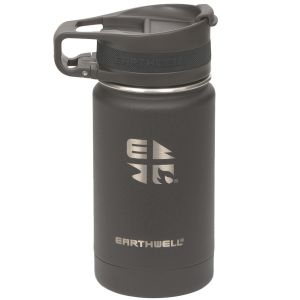 Butelka Earthwell Roaster Loop Vacuum 355ml Volcanic Black
