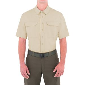 Koszula First Tactical Specialist Tactical Krótki Rękaw Khaki