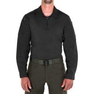 Koszula Męska First Tactical Defender Długi Rękaw Czarna