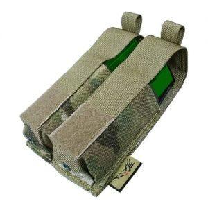 Ładownica Podwójna Flyye na Magazynki 9mm Ver. HP MOLLE MultiCam