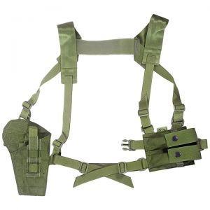 Kabura z Szelkami Flyye Shoulder System MOLLE Olive Drab
