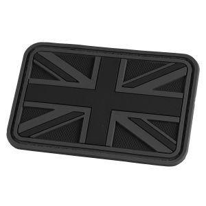 Naszywka Hazard 4 3D UK Flaga Wielkiej Brytani Czarna