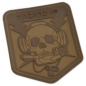 Naszywka Hazard 4 3D Operator Skull Czaszka Coyote