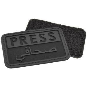 Naszywka Hazard 4 3D Press / Arabic Reporters Czarna