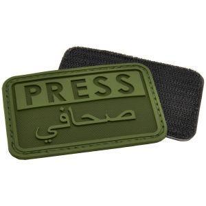Naszywka Hazard 4 3D Press / Arabic Reporters OD Green