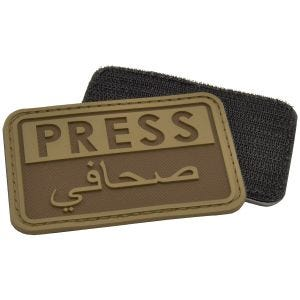 Naszywka Hazard 4 3D Press / Arabic Reporters Coyote