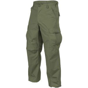 Spodnie Helikon BDU Bawełna Ripstop Olive Green