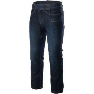 Spodnie Helikon Greyman Tactical Jeans Slim Denim Mid Dark Blue