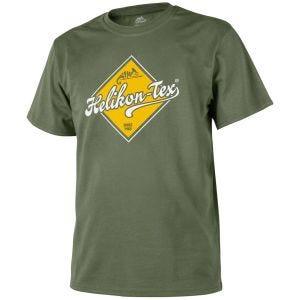Koszulka T-shirt Helikon Road Sign Olive Green
