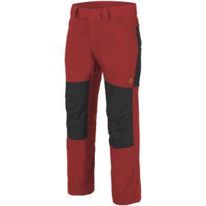 Spodnie Helikon Woodsman Crimson Sky / Czarne