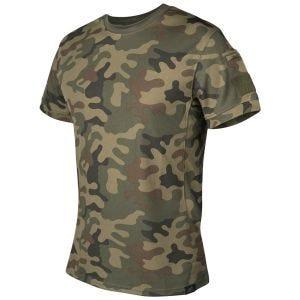 Koszulka T-shirt Helikon Tactical PL Woodland