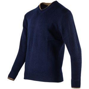 Sweter Jack Pyke Ashcombe V-Neck Navy