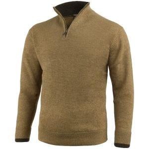 Sweter Jack Pyke Ashcombe Zip Neck Barley