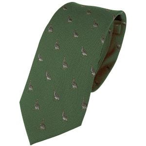 Jedwabny Krawat Jack Pyke Partridge Zielony