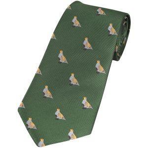 Krawat Jack Pyke Partridge Zielony