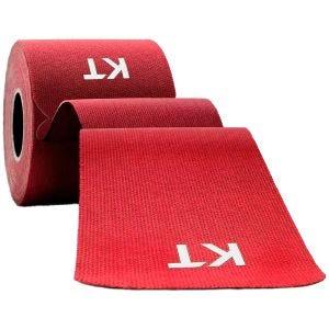"""Taśma Sportowa KT Tape Consumer Cotton Original Precut 10"""" Czerwona"""